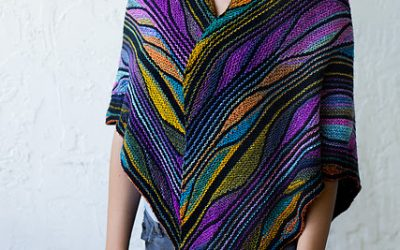 The beautiful Butterfly/Papillon Shawl